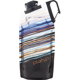 Platypus DuoLock SoftBottle 1000ml orange skyline